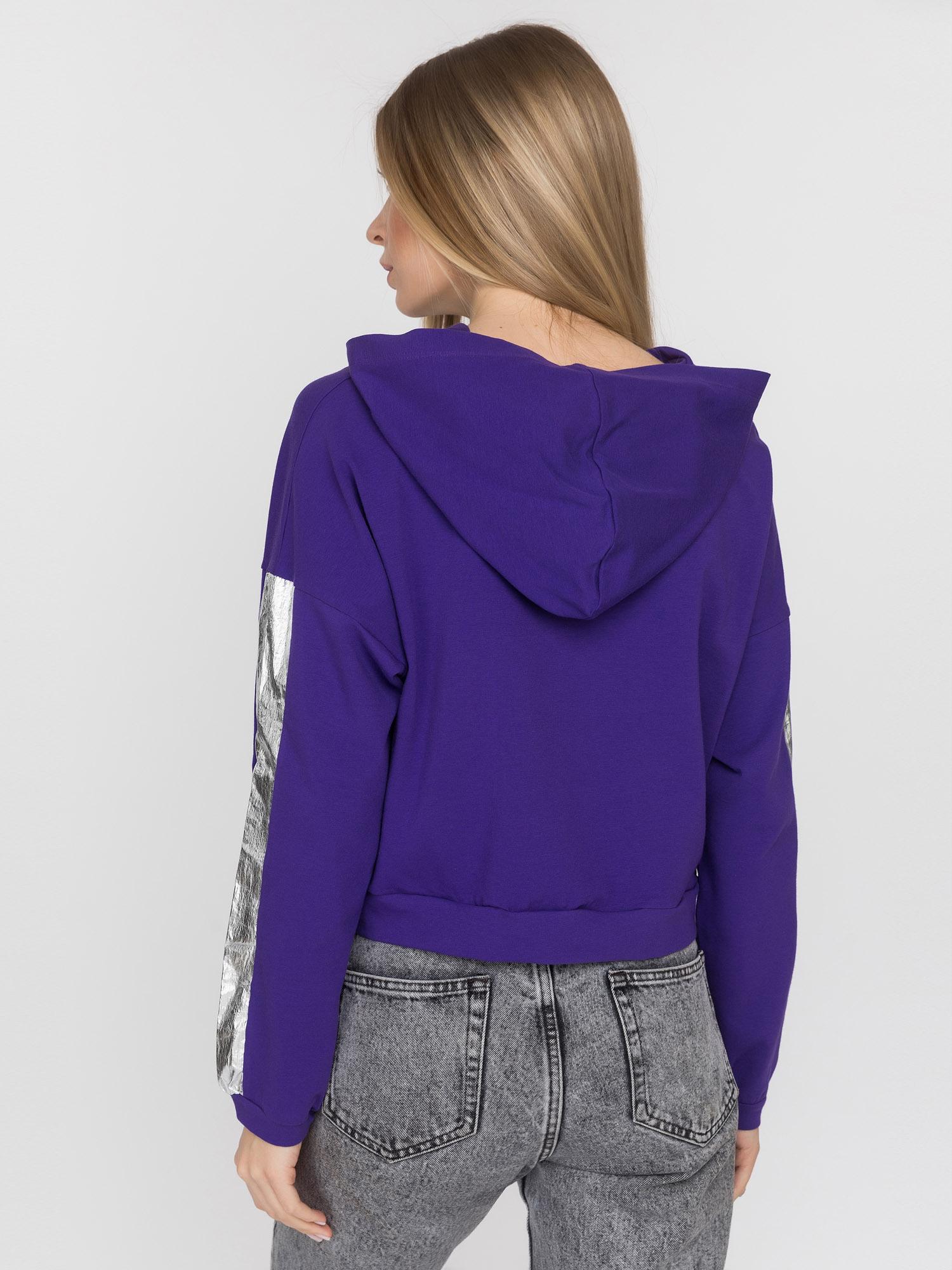 фиолетовый свитшот купить